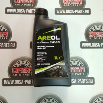 Масло моторное AREOL ECO PROTECT 5W-30 ACEA C3, 1л